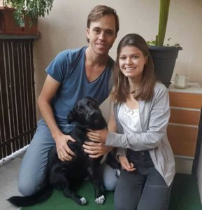 Grau, Julia und James, Timothy 2019-09-09